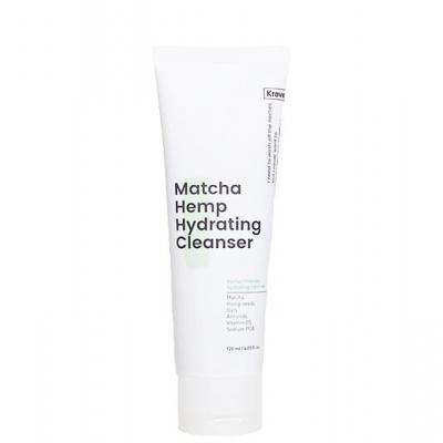 Matcha Hemp Hydrating Cleanser Hydratačný čistiaci gél, KRAVE Beauty | Meka.sk